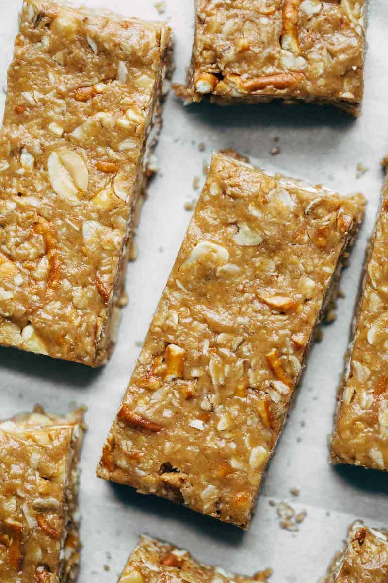 10 Must-Make Healthy Homemade Granola Bars - Soft Granola Bars from Pinch Of Yum