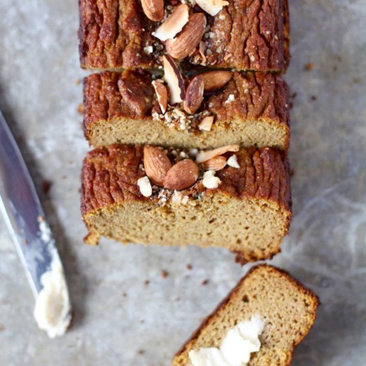 Easy Paleo Pumpkin Bread
