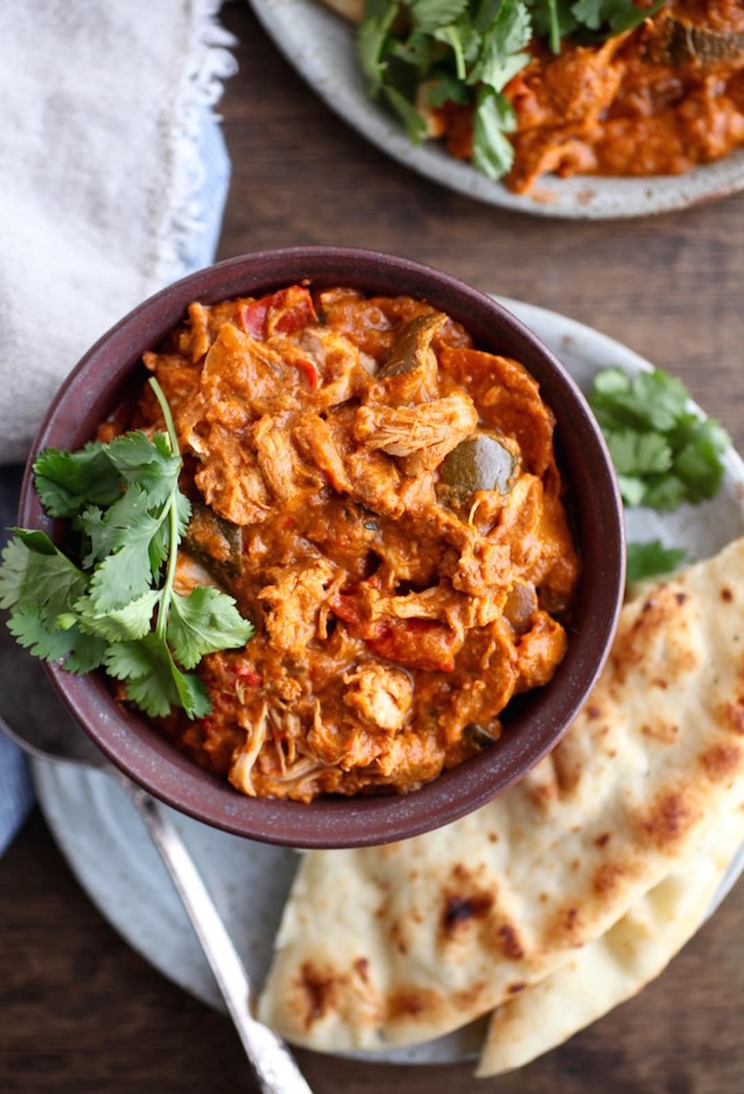 10 Terrific & Simple Healthy Fall Recipes - Dairy Free Butter Chicken Slow Cooker