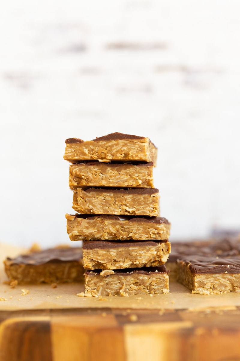 10 Must-Make Healthy Homemade Granola Bars - No Bake Sunbutter Bars from Vegan Richa