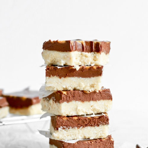 Easy Dark Chocolate Fudge Recipe Bars