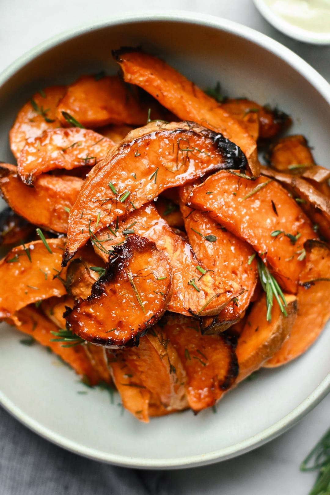 Irresistible Honey-Roasted Sweet Potato Wedges