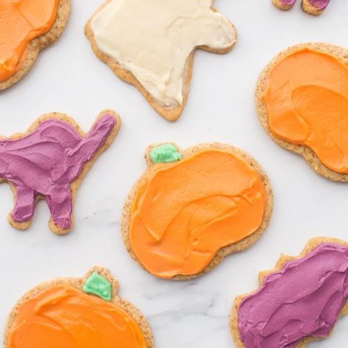 18 Healthy Gluten Free Halloween Treats - Paleo Halloween Cookies