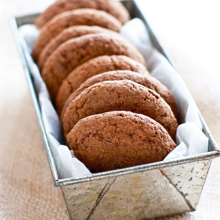 Healthy Gluten Free Gingersnap Cookies