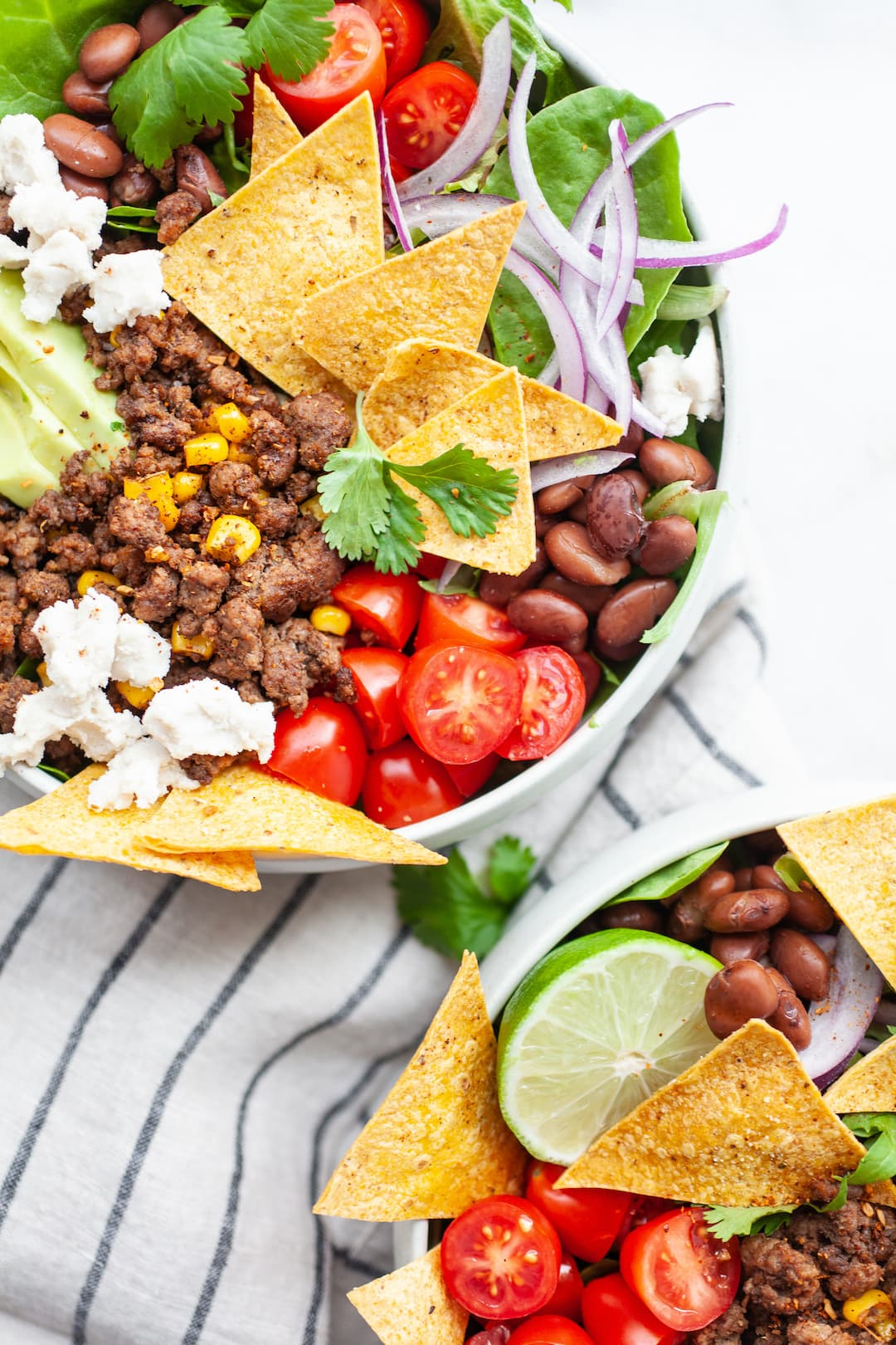 Healthy Taco Salad Recipe - dairy free, gluten free