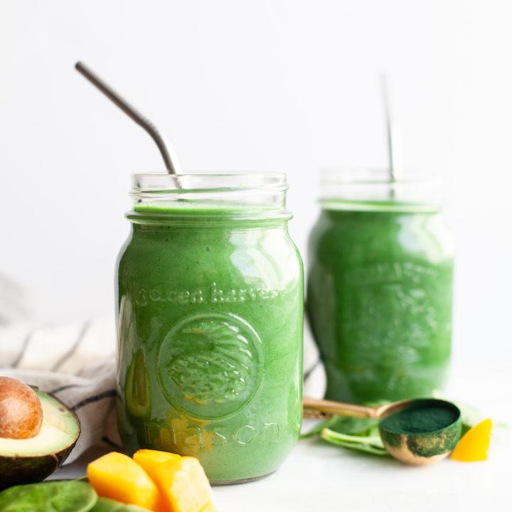 Best Green Spirulina Smoothie