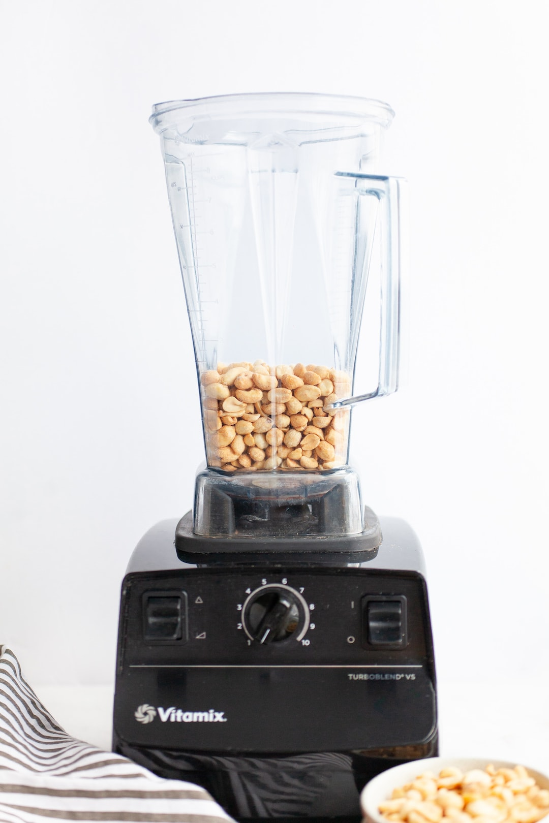 The Easiest 2-Minute Vitamix Peanut Butter