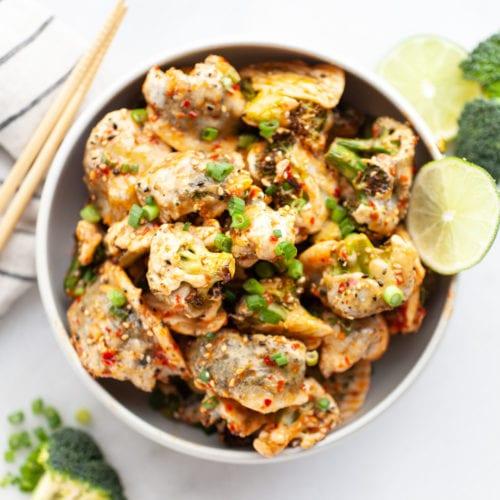 Delicious and Healthy Bang Bang Broccoli