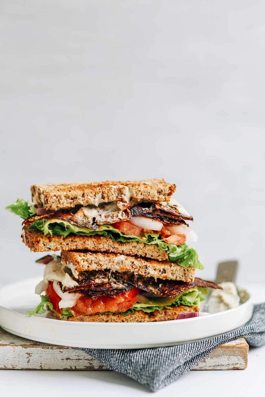 11 Yummy Plant Based Sandwiches - Plant Based BLT by Minimalist Baker
