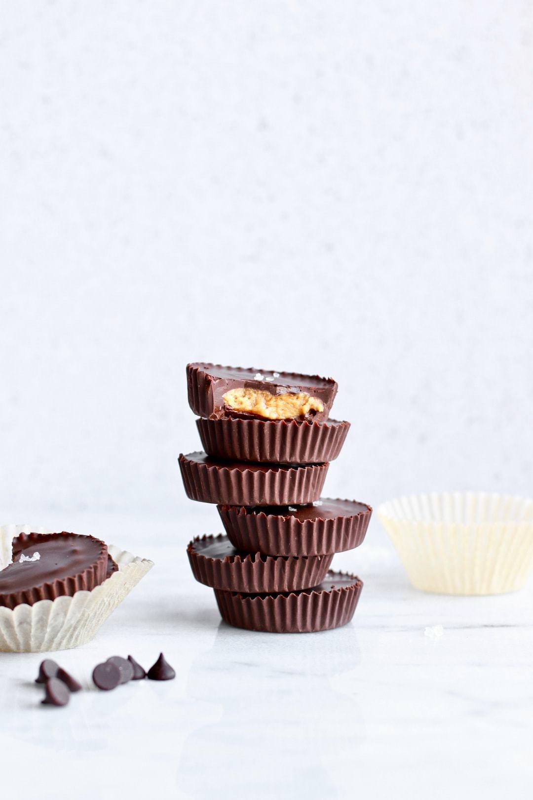 12 Super Easy Plant Based Desserts - Vegan Peanut Butter Cups