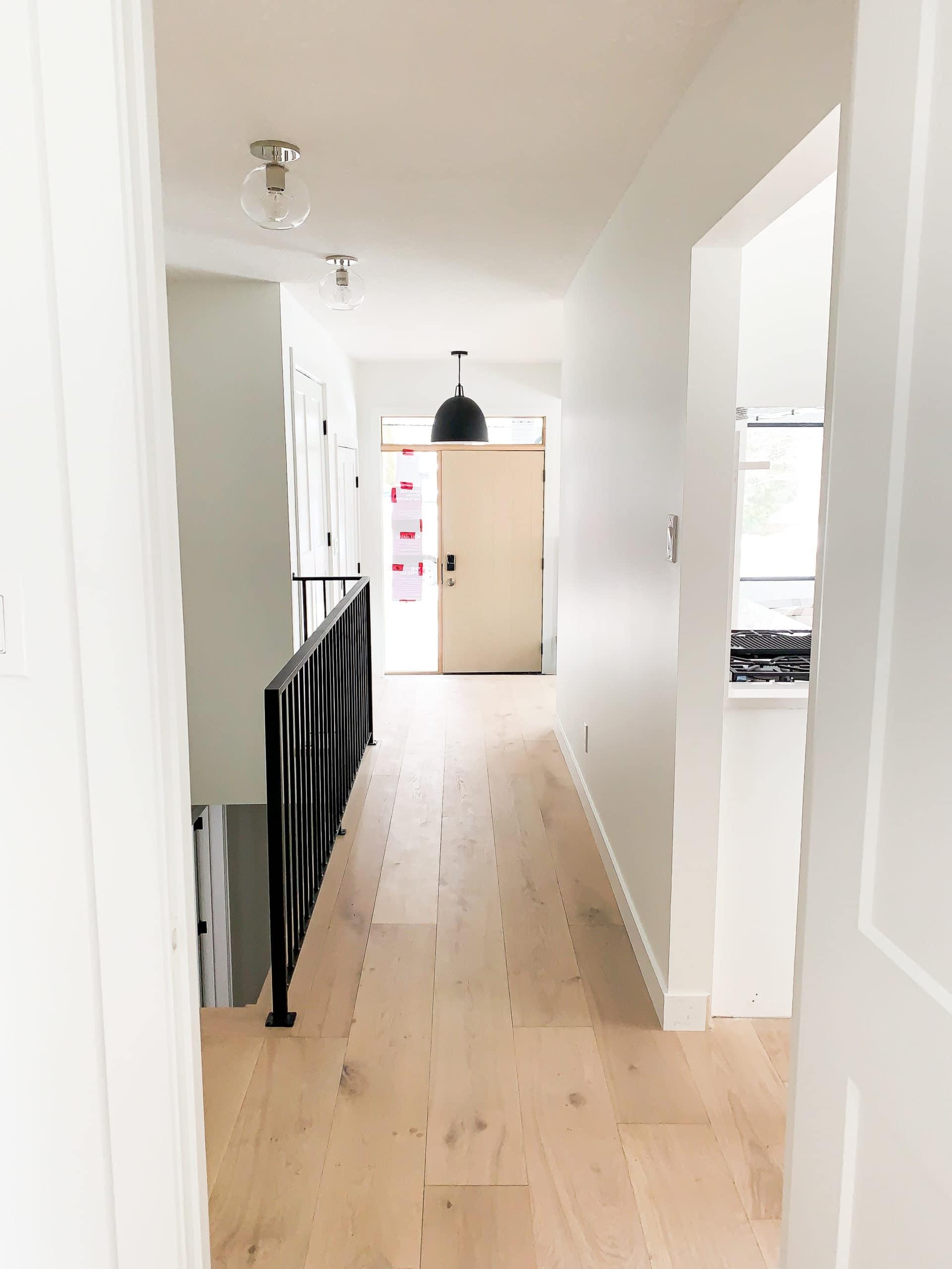 Full Home Renovation - Earthy Coastal Scandinavian California Minimal Entry Remodel