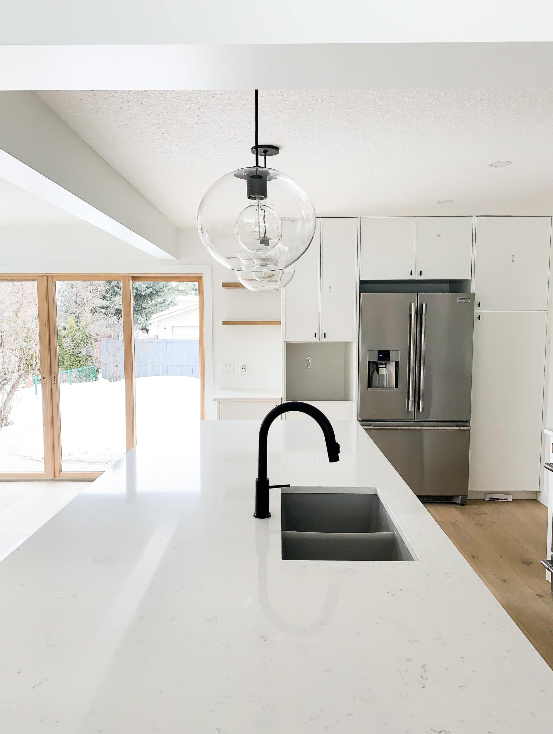 Full Home Renovation - Earthy Coastal Scandinavian California Minimal Kitchen Remodel