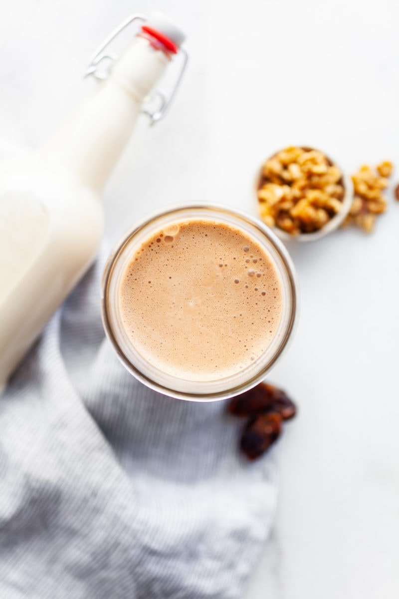 The Easiest Delicious and Healthy Vitamix Walnut Milk (2 Ways!)