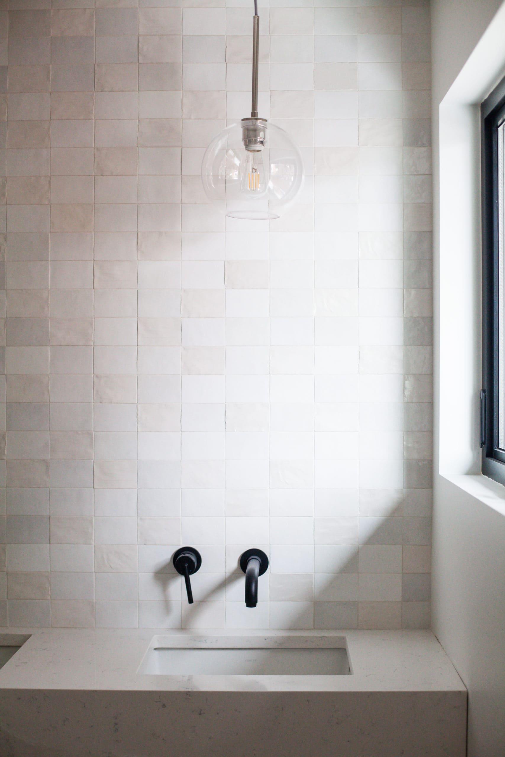 Full Home Renovation - Earthy Coastal Scandinavian California Minimal Master Bath Remodel