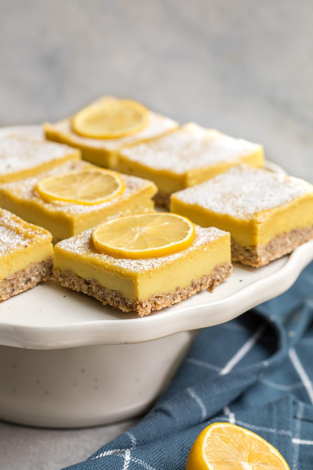 12 Super Easy Plant Based Desserts - Vegan Lemon Bars