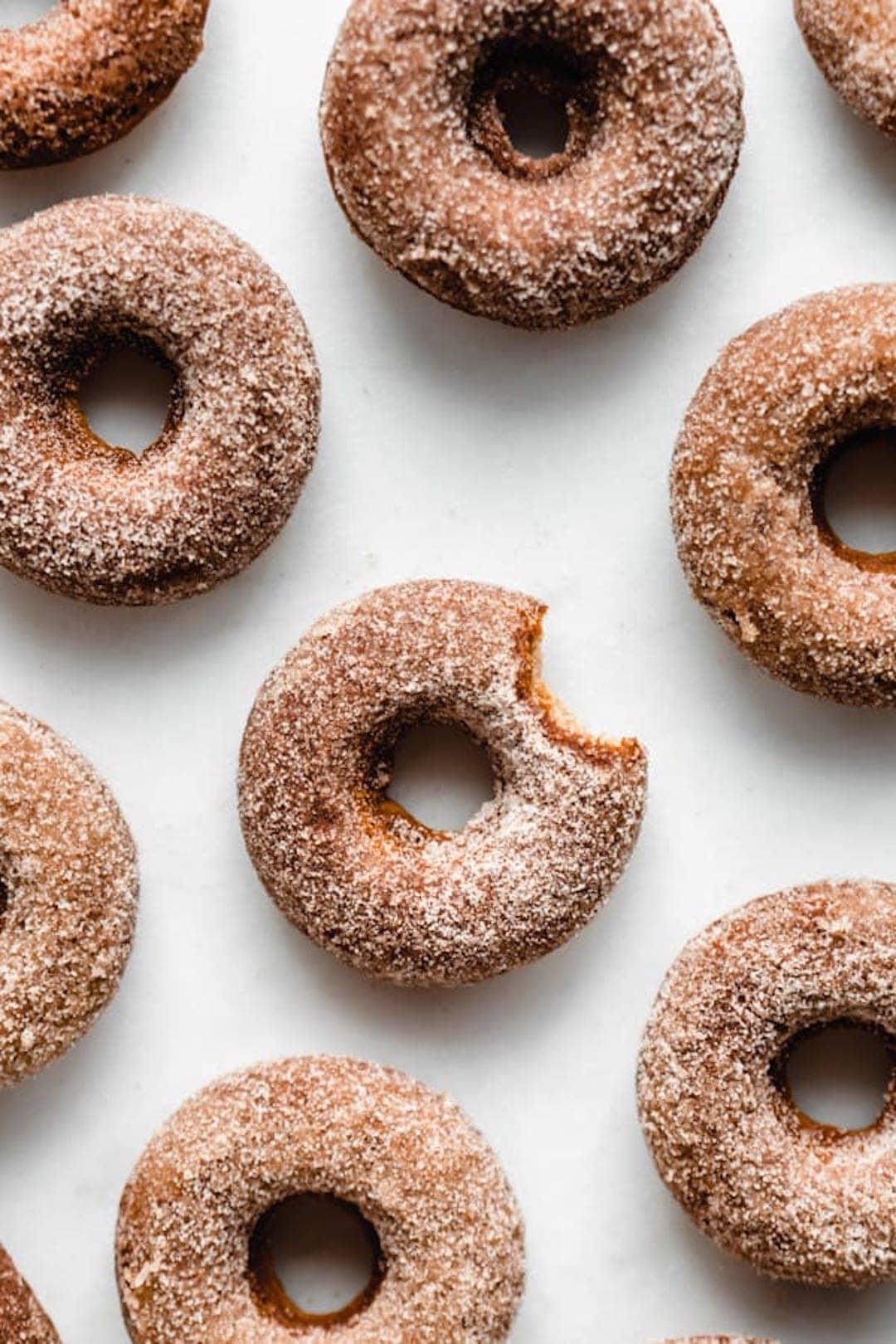 12 Super Easy Plant Based Desserts - Vegan Apple Cider Donuts