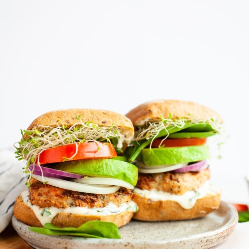 Best Healthy Turkey Burger Recipe with Avocado