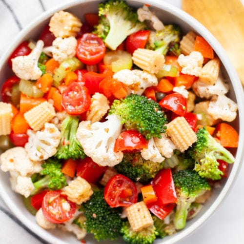 Easy Marinated Vegetable Salad Recipe