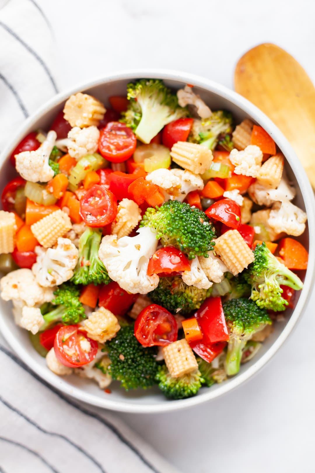 Easy Marinated Vegetable Salad Recipe