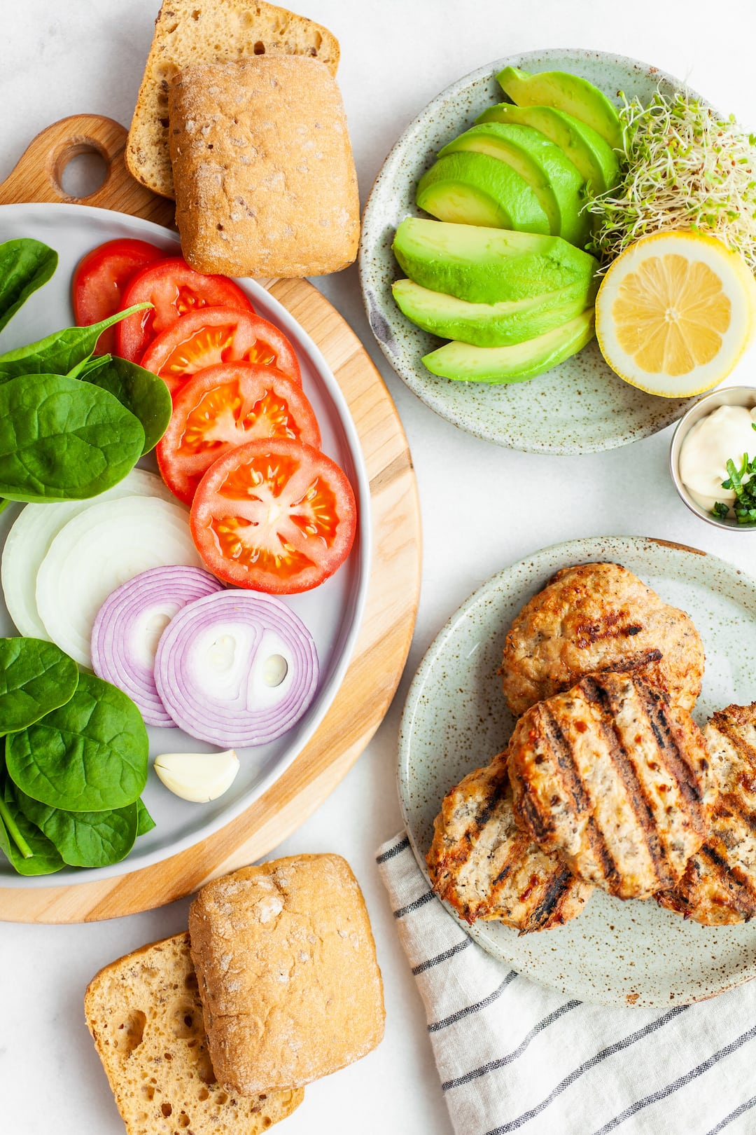 How To Make - Best Healthy Turkey Burger Recipe with Avocado