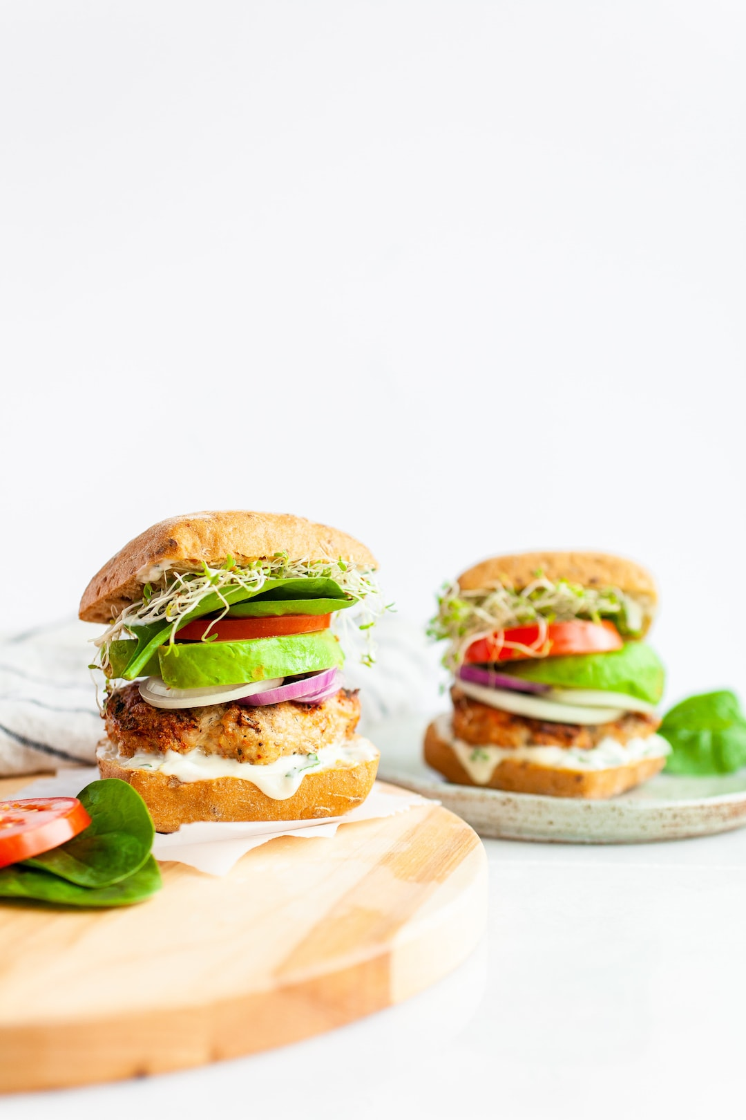 Gluten Free Best Healthy Turkey Burger Recipe with Avocado