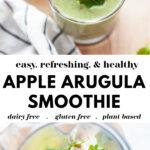 Delicious Arugula Smoothie Recipe Pin 2