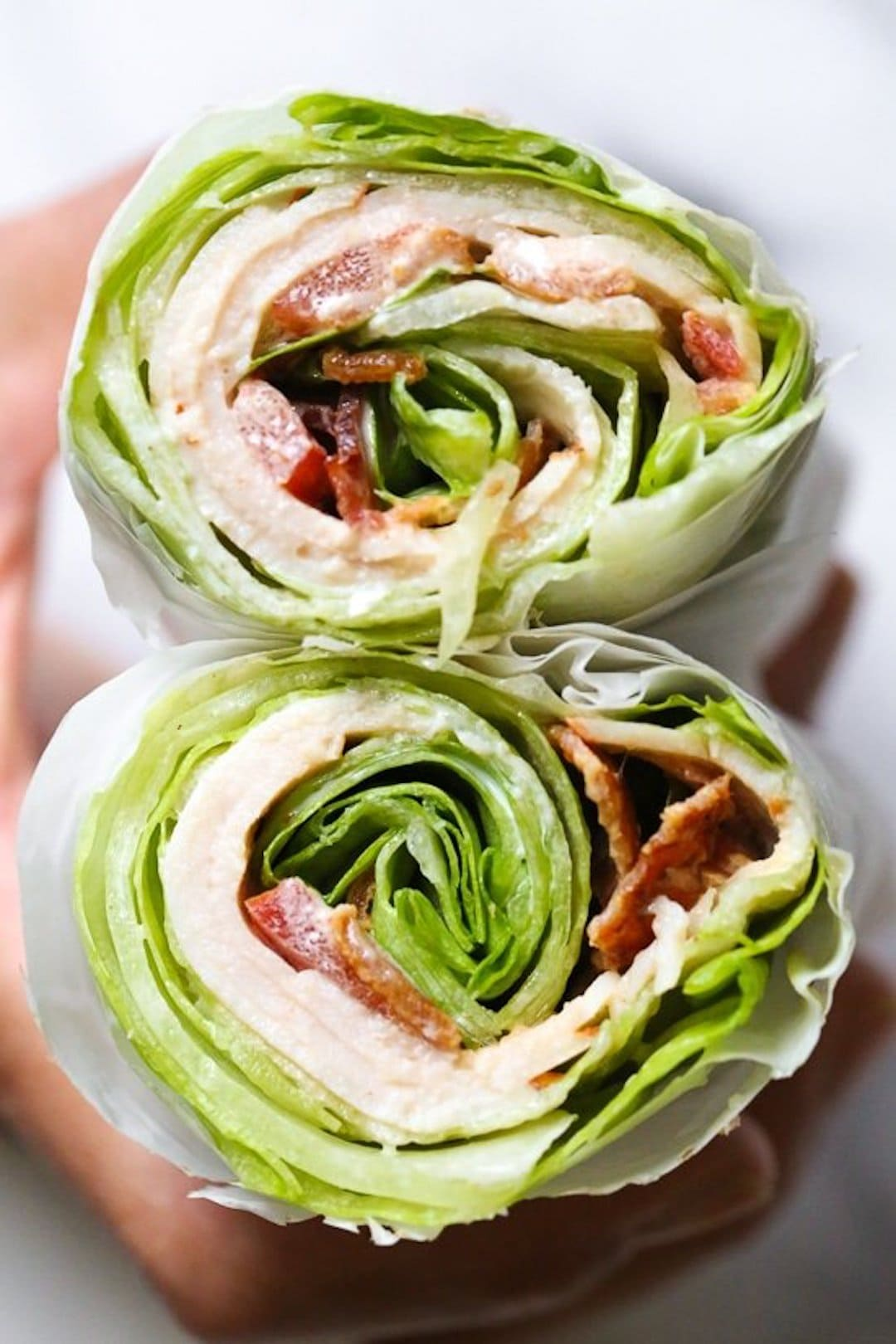 Turkey BLT Lettuce Wrap 18 Delicious Low Fodmap Snacks