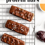 Must-Make Healthy 'Snickers' Protein Bar pin 2