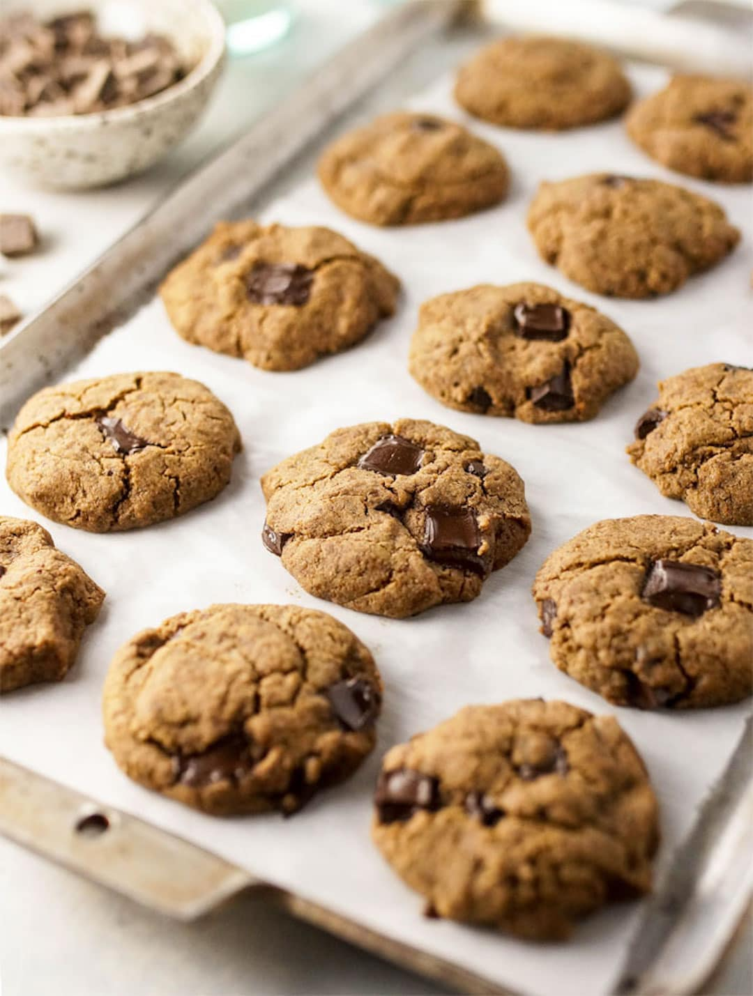 Buckwheat Chocolate Chip Cookies - 18 Delicious Low Fodmap Snacks