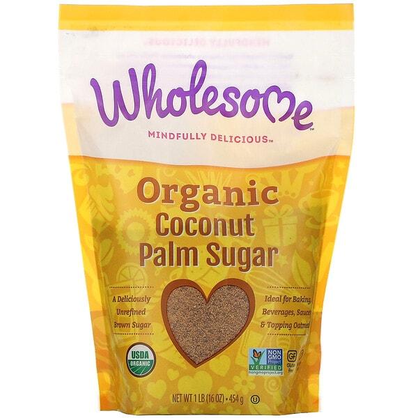 Wholesome, Organic Coconut Palm Sugar