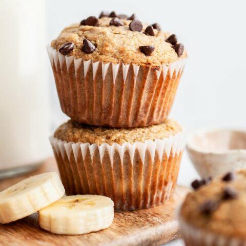 Easy Almond Flour Banana Muffins