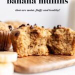 Easy Almond Flour Banana Muffins pin 4