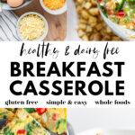 Dairy Free Breakfast Casserole pin 4