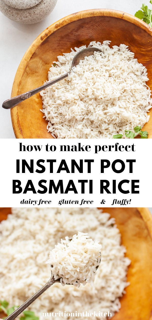 Instant Pot Basmati Rice | How To Make pin 2