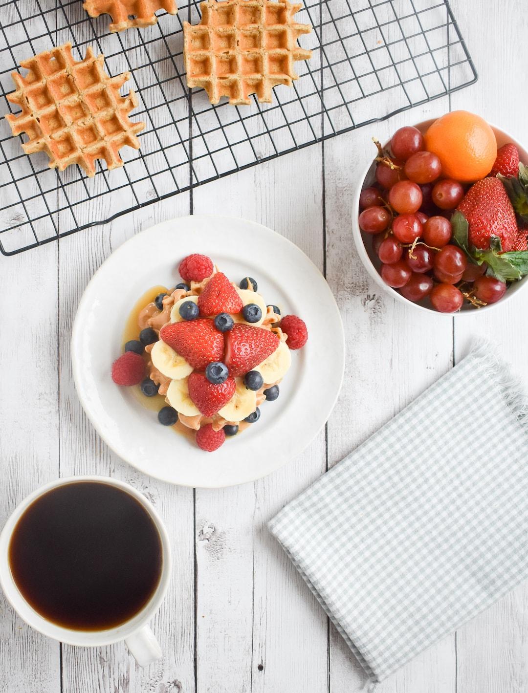 Low FODMAP Protein Waffles