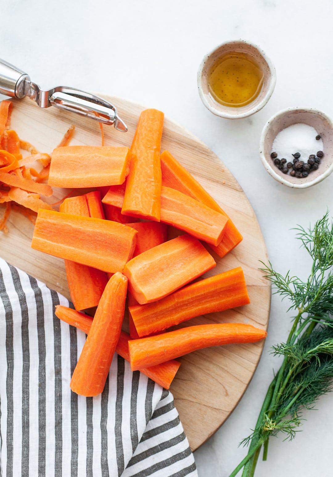 Ingredients for Incredible Air Fryer Carrots