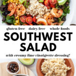 Healthy Southwest Salad pin 2