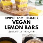 Best Vegan Lemon Bars pin 3