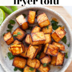 Crispy Air Fryer Tofu pin 4