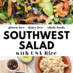 Healthy Southwest Salad pin 1