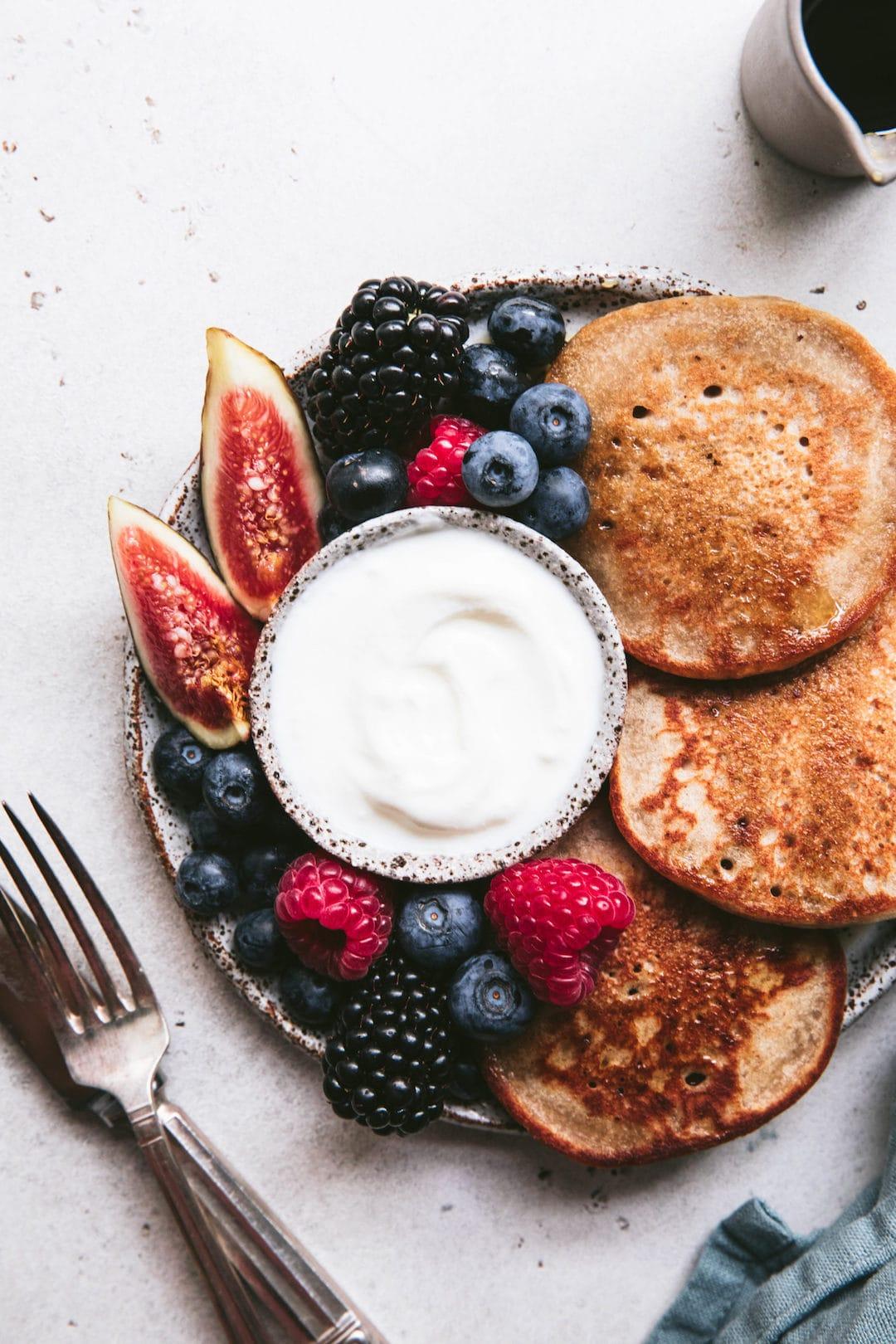 17 Low FODMAP Breakfast Ideas - Buckwheat Pancakes