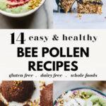14 Tasty Bee Pollen Recipes pin 1