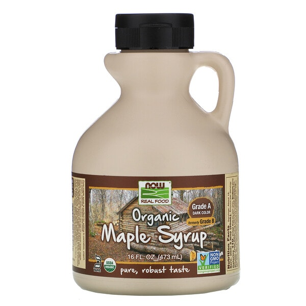 Now Foods, Real Food, Organic Maple Syrup