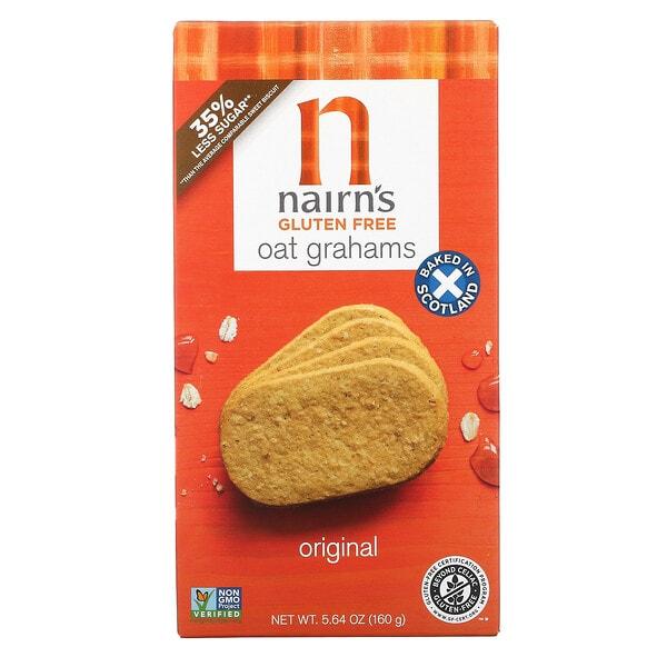 Nairn's, Oat Grahams, Gluten Free, Original, 5.64 oz (160 g)