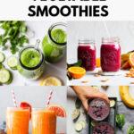 8 Vegetable Smoothies