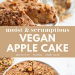 Vegan Apple Cake pin 2
